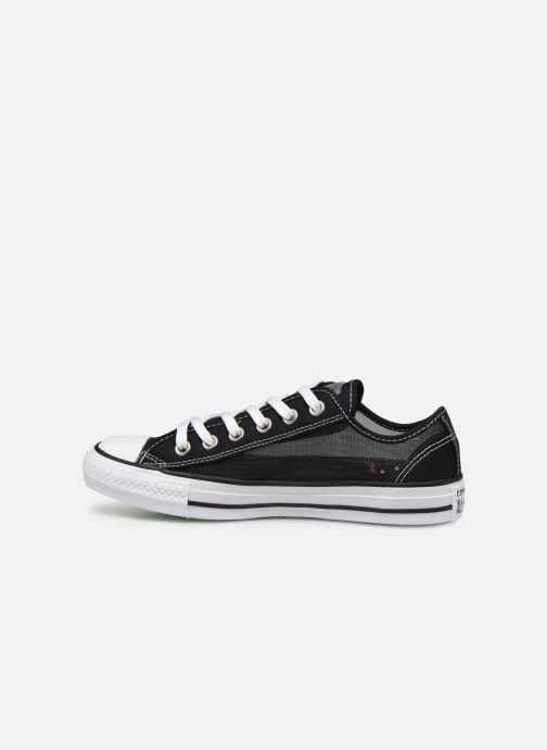 Sneakers Converse Chuck Taylor All Star See Thru Ox Zwart voorkant