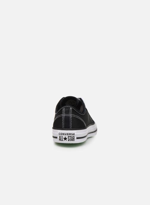Sneakers Converse Chuck Taylor All Star See Thru Ox Zwart rechts