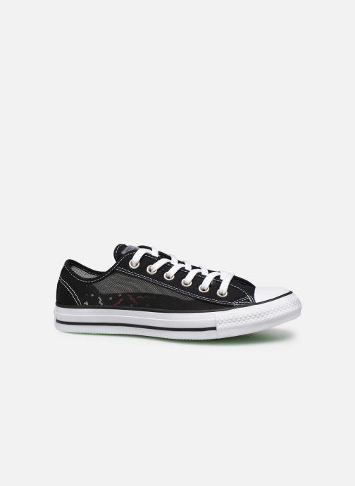 Sneakers Converse Chuck Taylor All Star See Thru Ox Zwart achterkant