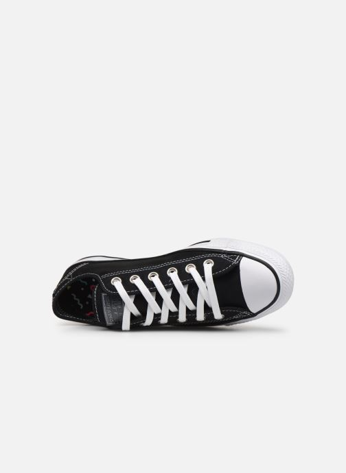Trainers Converse Chuck Taylor All Star See Thru Ox Black view from the left