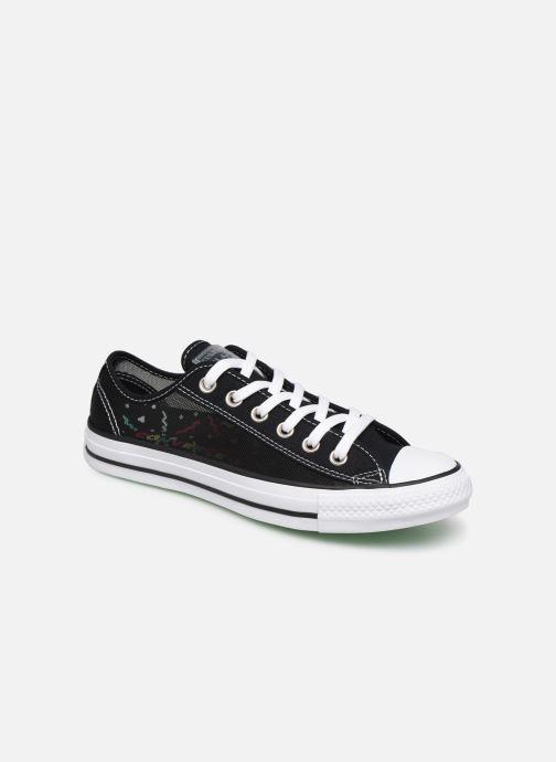 Sneakers Converse Chuck Taylor All Star See Thru Ox Zwart detail