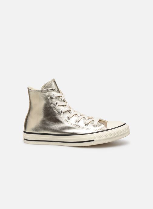 Trainers Converse Chuck Taylor All Star Shiny Metal Hi Bronze and Gold back view