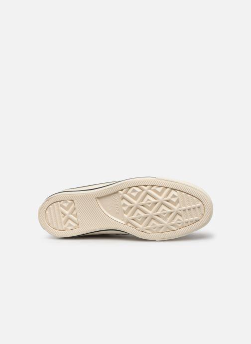 Sneakers Converse Chuck Taylor All Star Shiny Metal Hi Oro e bronzo immagine dall'alto