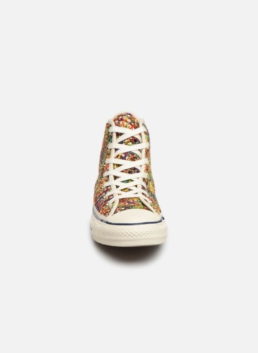 Trainers Converse Chuck Taylor All Star Handmade Crochet Hi Multicolor model view