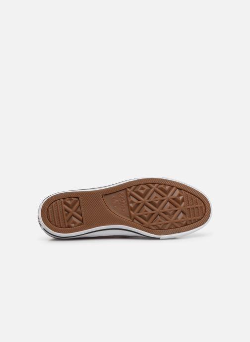 Sneakers Converse Chuck Taylor All Star Handmade Crochet Ox Roze boven