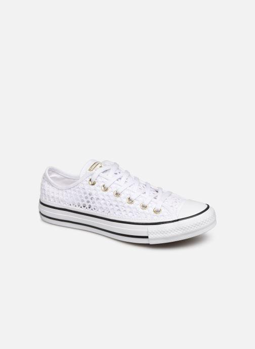 Sneaker Converse Chuck Taylor All Star Handmade Crochet Ox weiß detaillierte ansicht/modell