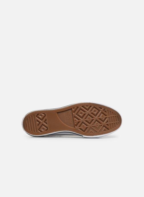 Sneaker Converse Chuck Taylor All Star Lift Handmade Crochet Ox weiß ansicht von oben