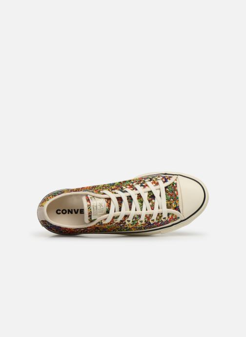 Trainers Converse Chuck Taylor All Star Lift Handmade Crochet Ox Multicolor view from the left