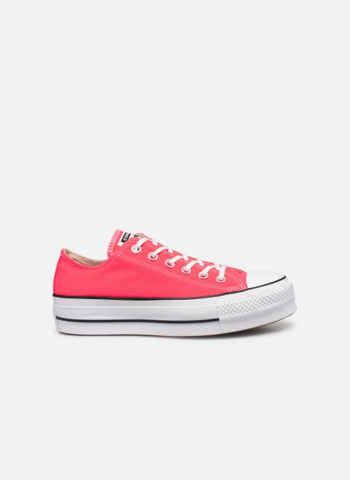 Deportivas Converse Chuck Taylor All Star Clean Lift Seasonal Color Extension Ox Rosa vistra trasera