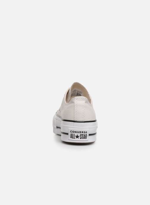 Sneakers Converse Chuck Taylor All Star Clean Lift Seasonal Color Extension Ox Beige rechts