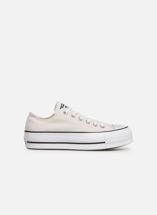 Sneakers Converse Chuck Taylor All Star Clean Lift Seasonal Color Extension Ox Beige achterkant