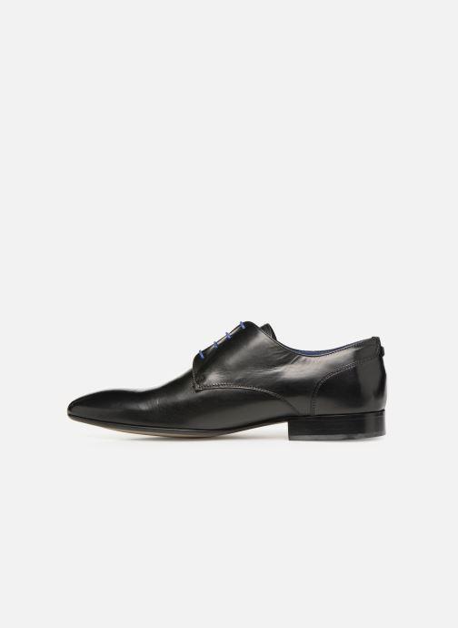 Zapatos con cordones Azzaro Deligo Negro vista de frente