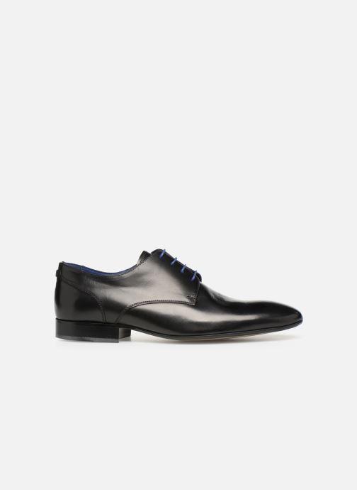 Chaussures à lacets Azzaro Deligo Noir vue derrière