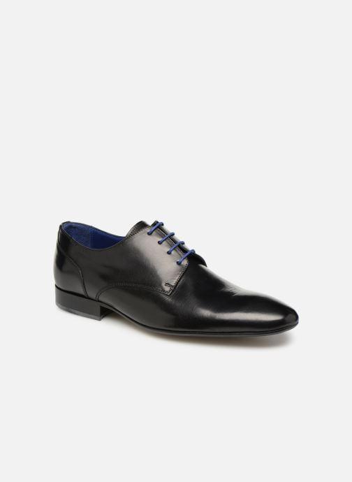Chaussures à lacets Azzaro Deligo Noir vue détail/paire