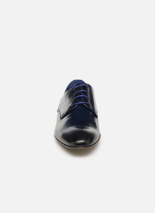 Lace-up shoes Azzaro Deligo Blue model view