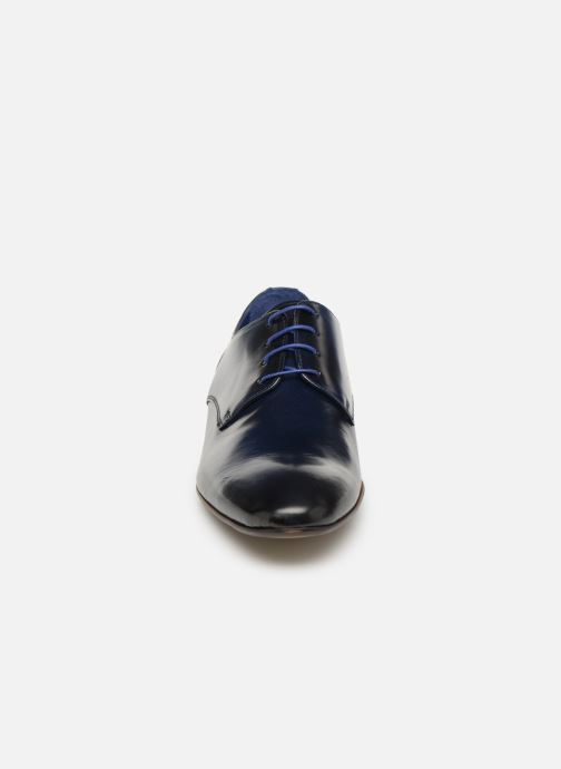Zapatos con cordones Azzaro Deligo Azul vista del modelo