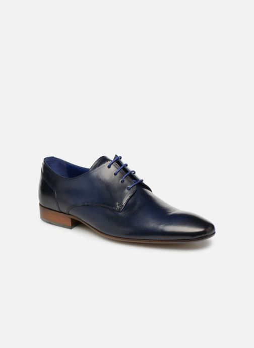 Lace-up shoes Azzaro Deligo Blue detailed view/ Pair view