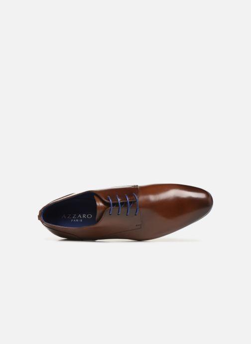 Chaussures à lacets Azzaro Deligo Marron vue gauche