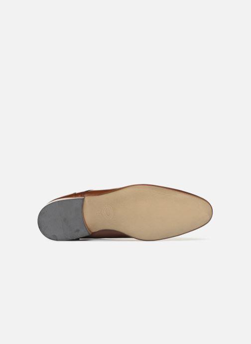 Chaussures à lacets Azzaro Deligo Marron vue haut
