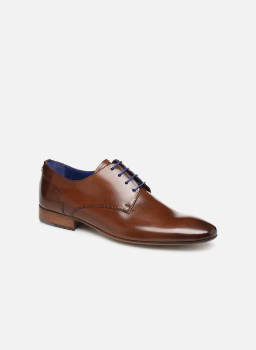 Zapatos con cordones Azzaro Deligo Marrón vista de detalle / par