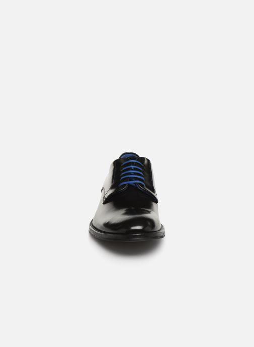 Zapatos con cordones Azzaro Farano Negro vista del modelo