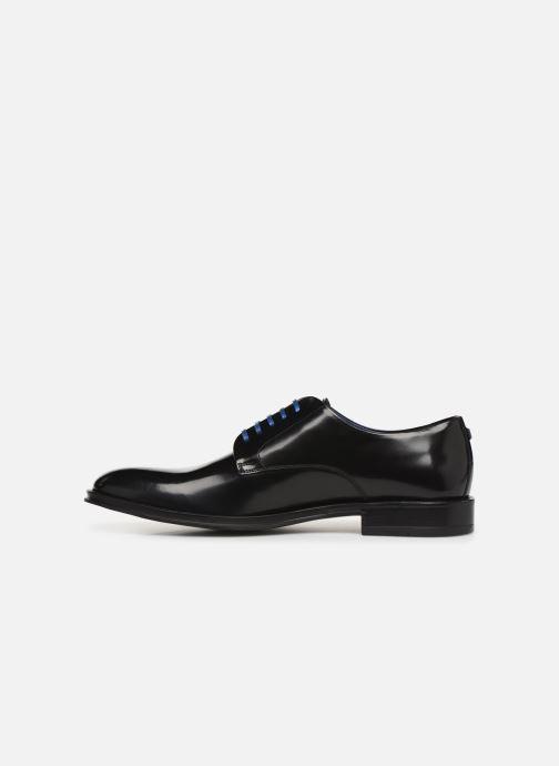 Zapatos con cordones Azzaro Farano Negro vista de frente