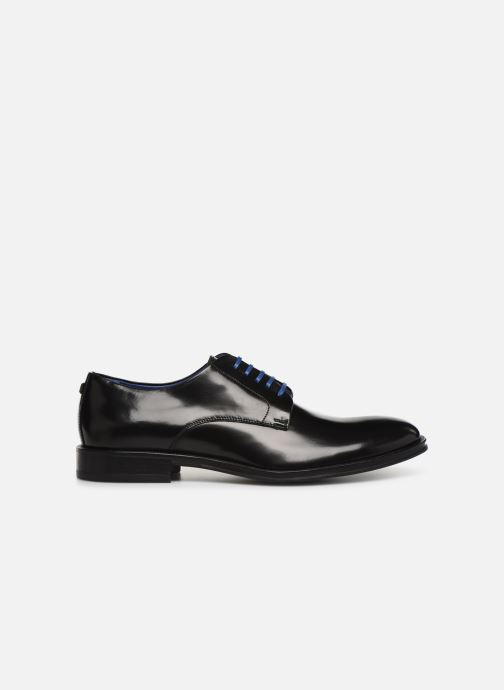 Zapatos con cordones Azzaro Farano Negro vistra trasera