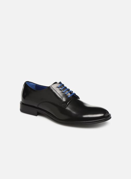 Chaussures à lacets Azzaro Farano Noir vue détail/paire