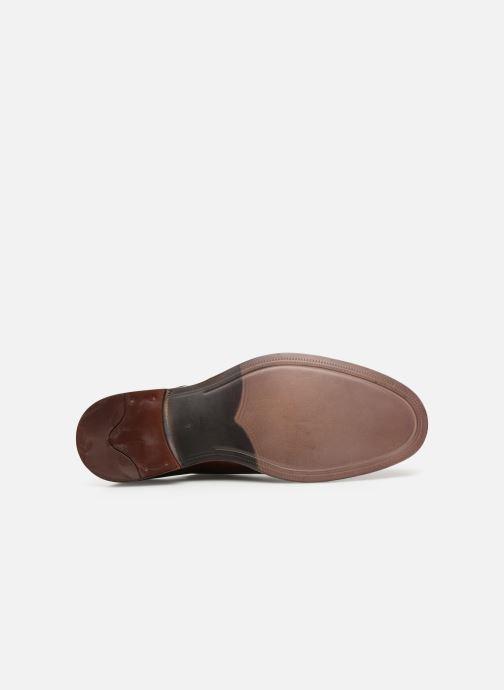Chaussures à lacets Azzaro Farano Marron vue haut