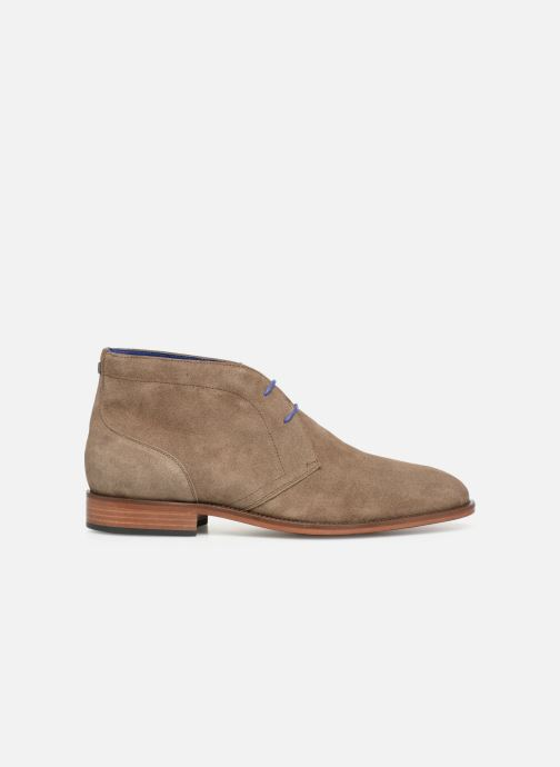 Ankle boots Azzaro Herzog Beige back view