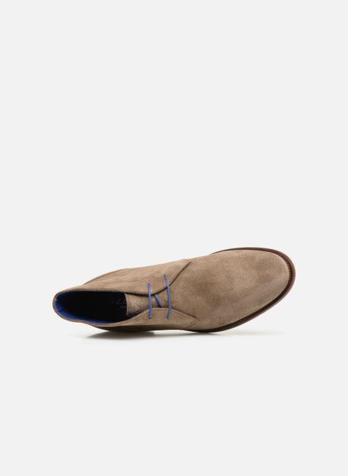 Bottines et boots Azzaro Herzog Beige vue gauche
