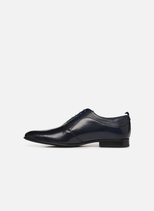 Lace-up shoes Azzaro Malot Blue front view