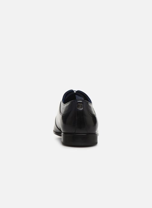 Lace-up shoes Azzaro Malot Blue view from the right