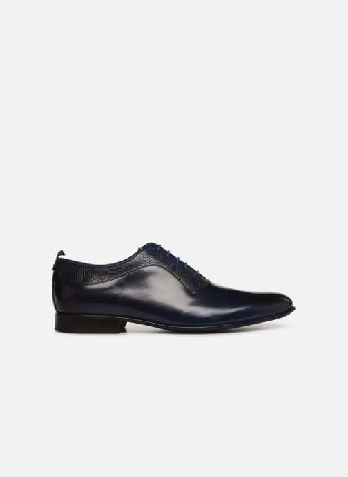 Lace-up shoes Azzaro Malot Blue back view