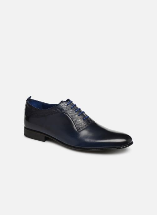 Lace-up shoes Azzaro Malot Blue detailed view/ Pair view