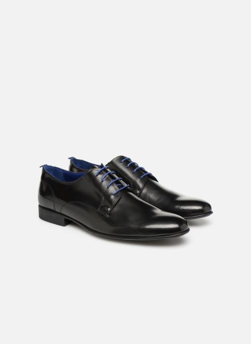 Lace-up shoes Azzaro Monfort Black 3/4 view
