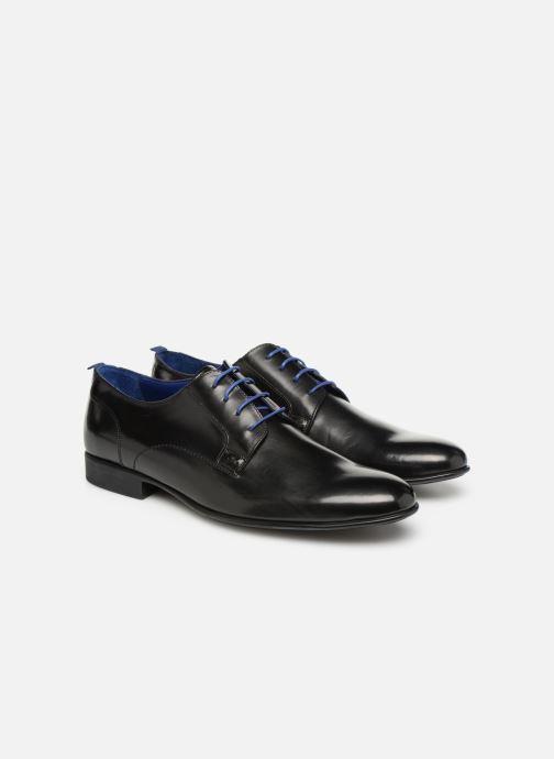 Chaussures à lacets Azzaro Monfort Noir vue 3/4