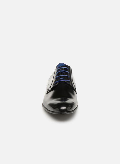 Chaussures à lacets Azzaro Monfort Noir vue portées chaussures