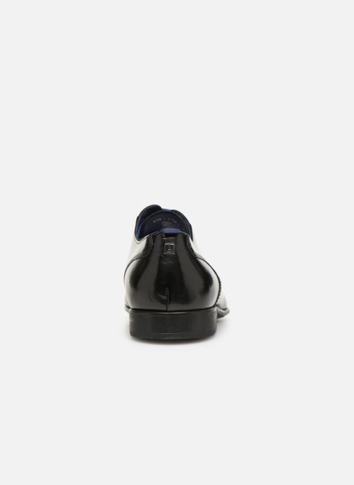 Lace-up shoes Azzaro Monfort Black view from the right