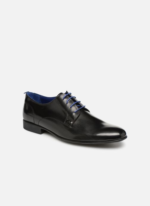 Lace-up shoes Azzaro Monfort Black detailed view/ Pair view