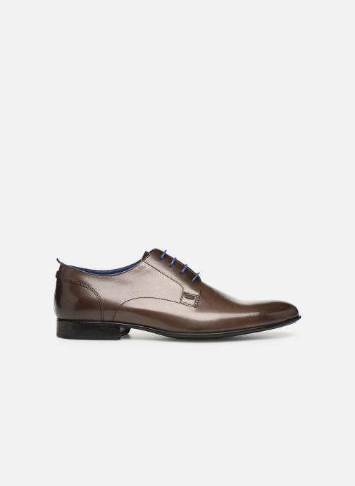 Lace-up shoes Azzaro Monfort Brown back view