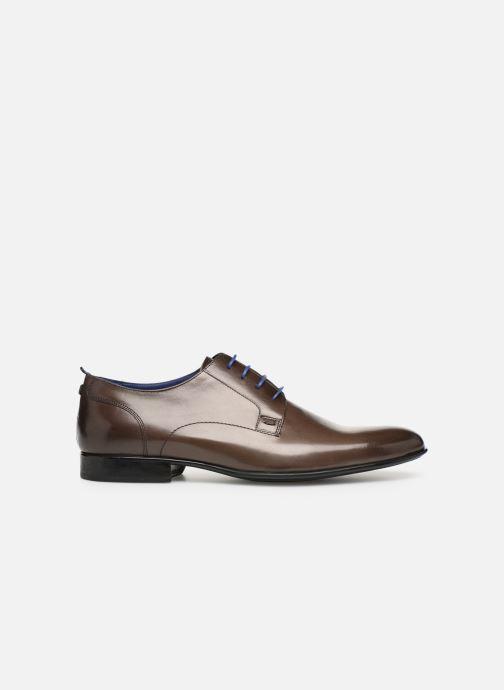 Zapatos con cordones Azzaro Monfort Marrón vistra trasera