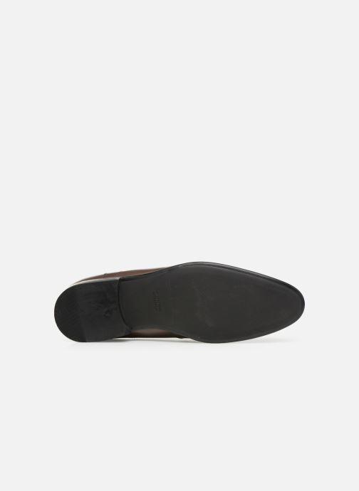 Chaussures à lacets Azzaro Monfort Marron vue haut