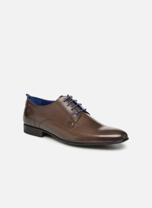 Zapatos con cordones Azzaro Monfort Marrón vista de detalle / par