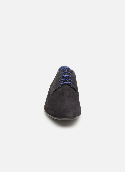 Lace-up shoes Azzaro Nabalan Blue model view