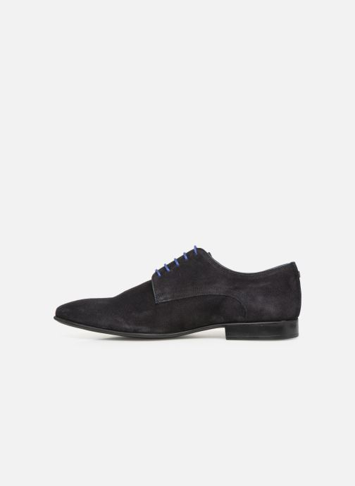 Lace-up shoes Azzaro Nabalan Blue front view