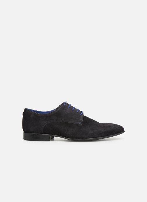 Zapatos con cordones Azzaro Nabalan Azul vistra trasera