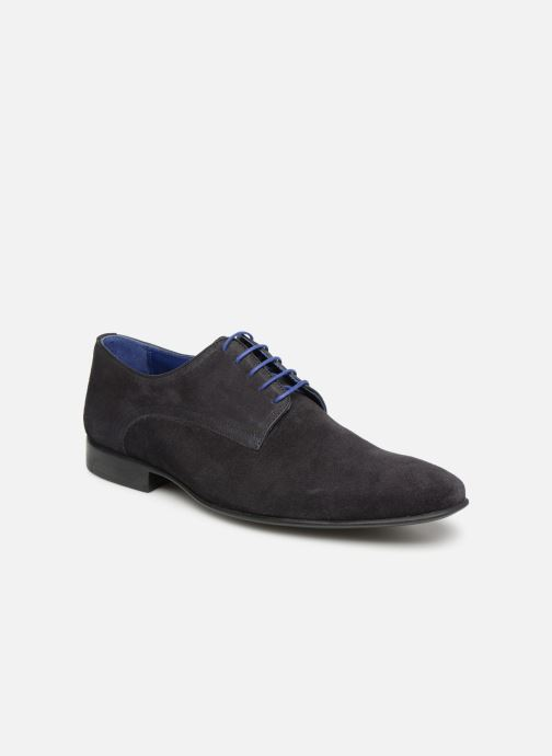 Lace-up shoes Azzaro Nabalan Blue detailed view/ Pair view