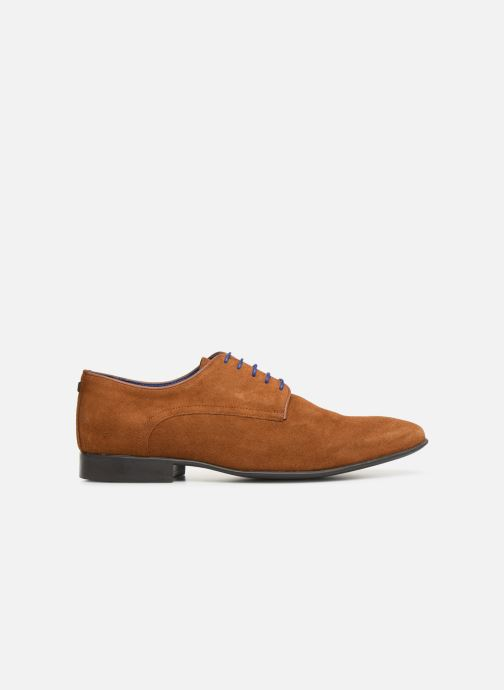 Lace-up shoes Azzaro Nabalan Brown back view