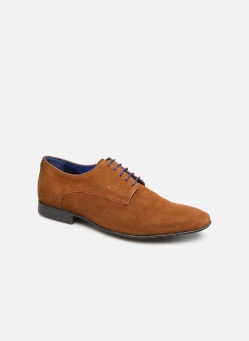 Chaussures à lacets Azzaro Nabalan Marron vue détail/paire